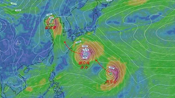 强力台风图