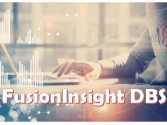 FusionInsight DBS 2.x