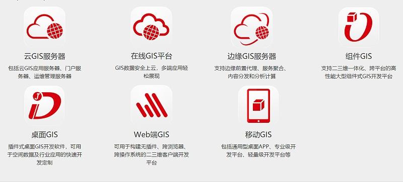 GIS系统产品概述